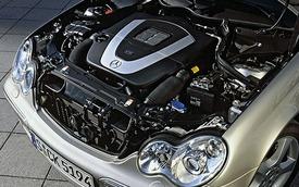 Những mẫu động cơ Mercedes-Benz từng trang bị cho C-Class